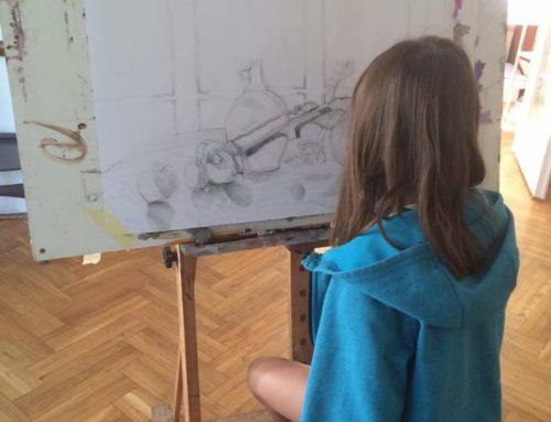Zajęcia z rysunku